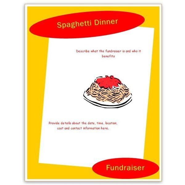 Free Printable Fundraiser Flyer Templates Find Free Flyer Templates for Word 10 Excellent Options