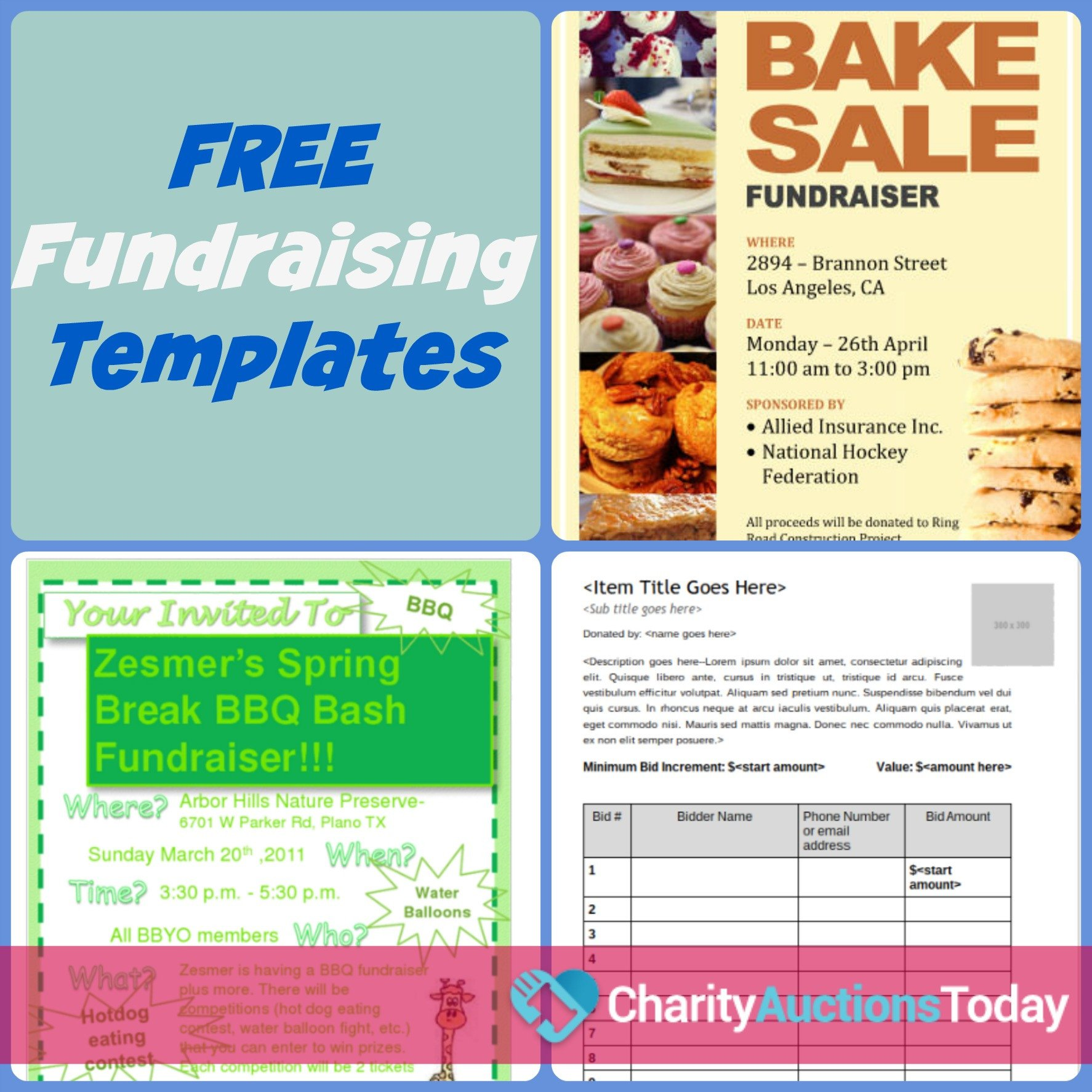 Free Printable Fundraiser Flyer Templates Free Fundraiser Flyer