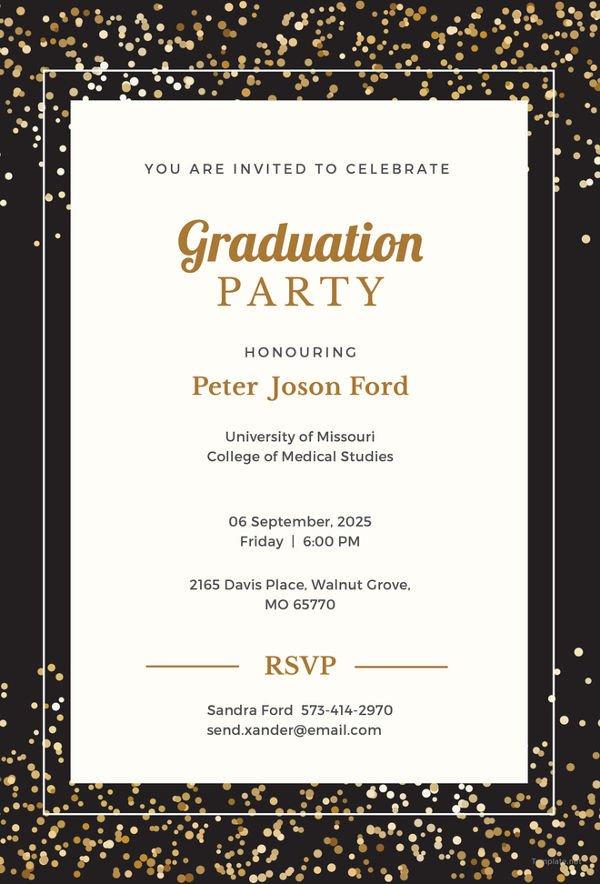 Free Printable Graduation Invitations 19 Graduation Invitation Templates Invitation Templates