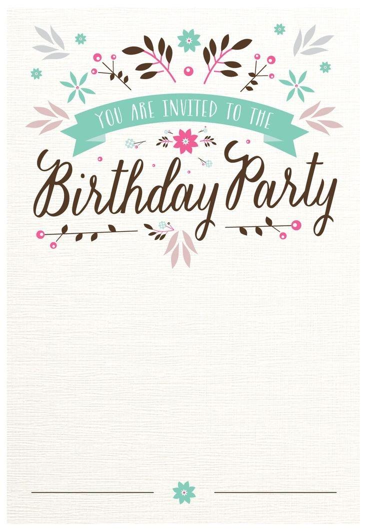 Free Printable Invitation Templates 25 Best Ideas About Free Invitation Templates On