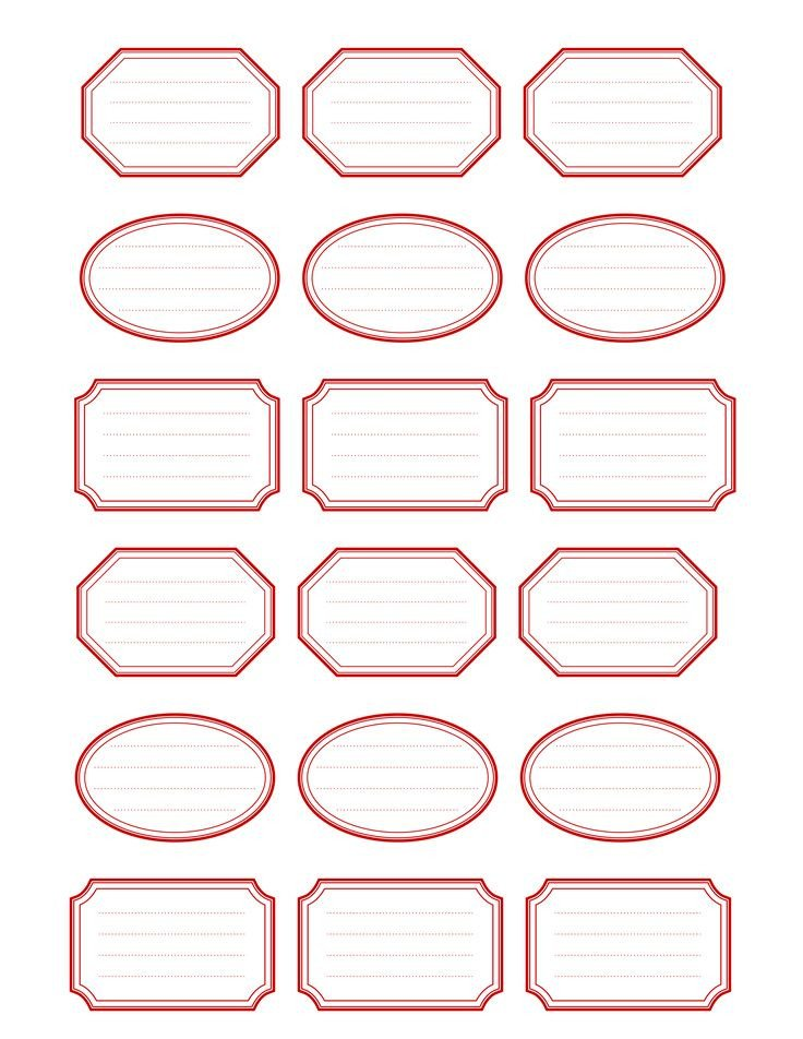 Free Printable Label Template Best 25 Label Templates Ideas On Pinterest