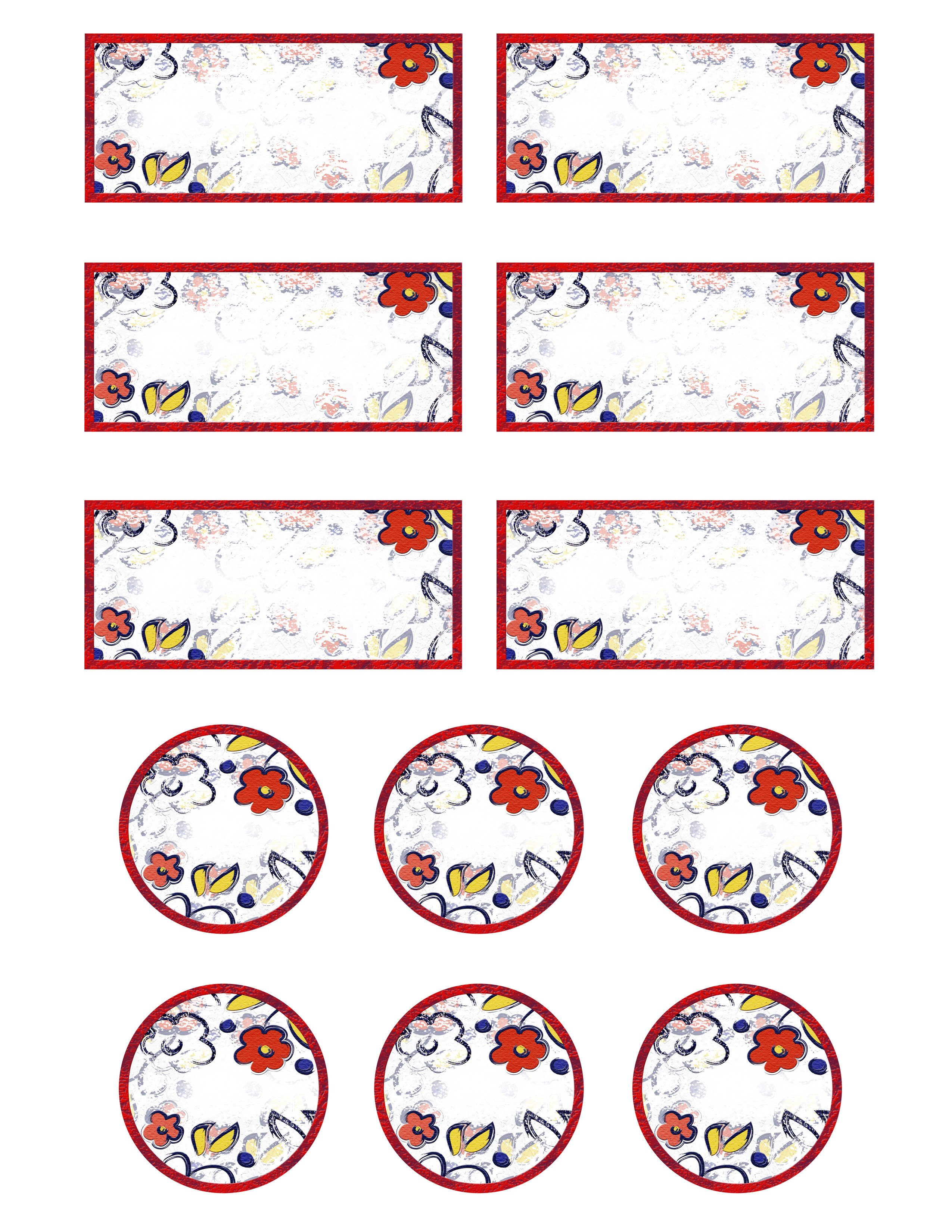 Free Printable Labels Template Free Printable Jar Labels for Home Canning