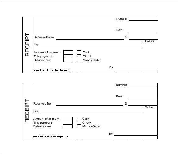 Free Printable Receipt Templates 121 Receipt Templates Doc Excel Ai Pdf