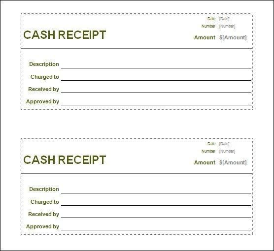 Free Printable Receipt Templates 13 Blank Receipt Template
