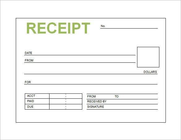 Free Printable Receipt Templates Pin Oleh Joko Di Receipt Template