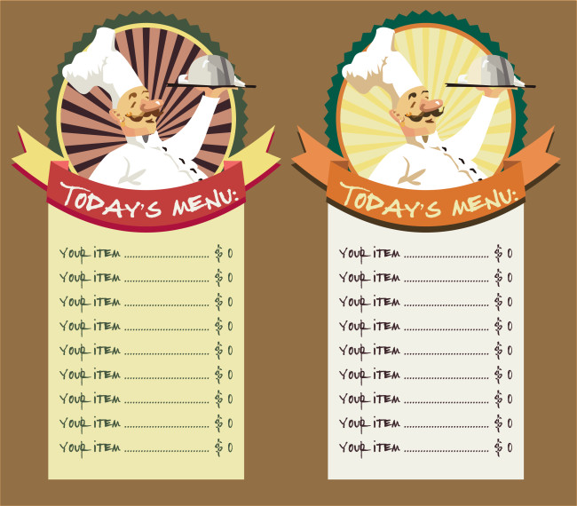 Free Printable Restaurant Menu Templates Restaurant Menu Template 8 Free Restaurant Menus