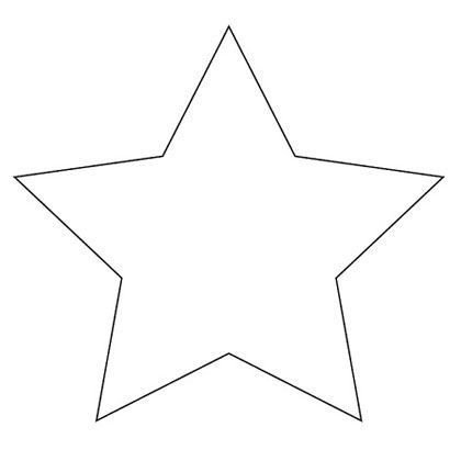 Free Printable Star Template Springtime Mickey Bark Recipe