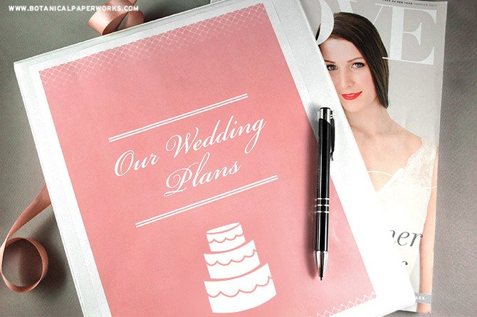 Free Printable Wedding Binder Templates 75 Free Must Have Wedding Templates for Designers