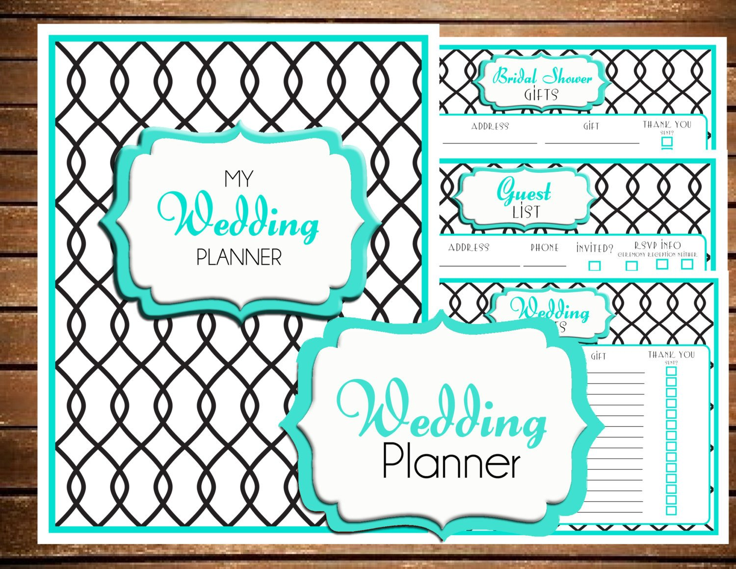 Free Printable Wedding Binder Templates Chandeliers & Pendant Lights