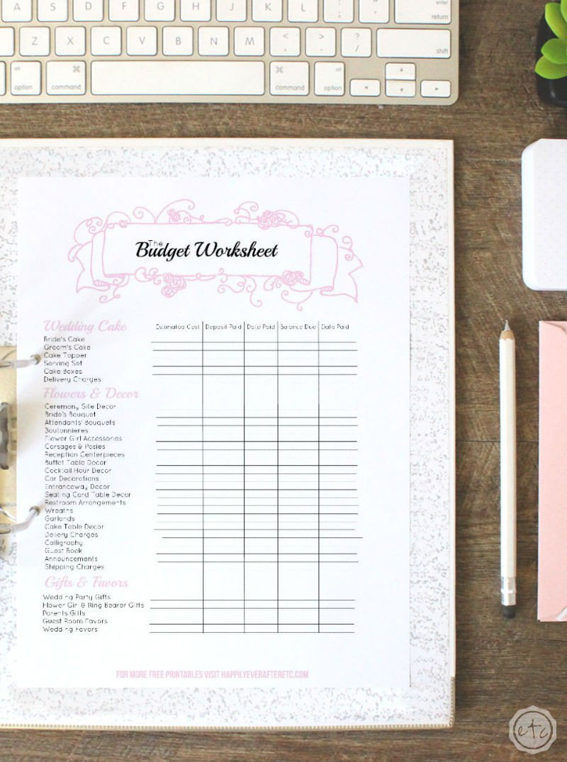 Free Printable Wedding Binder Templates Free Printable Wedding Binder Money Saving Mom