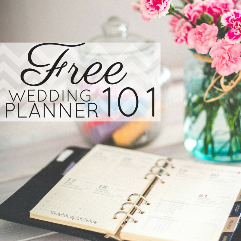 Free Printable Wedding Binder Templates Free Wedding Planner – Weddings & Wine