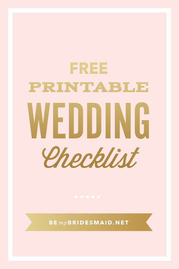 Free Printable Wedding Binder Templates Free Wedding Planning Printables & Checklists