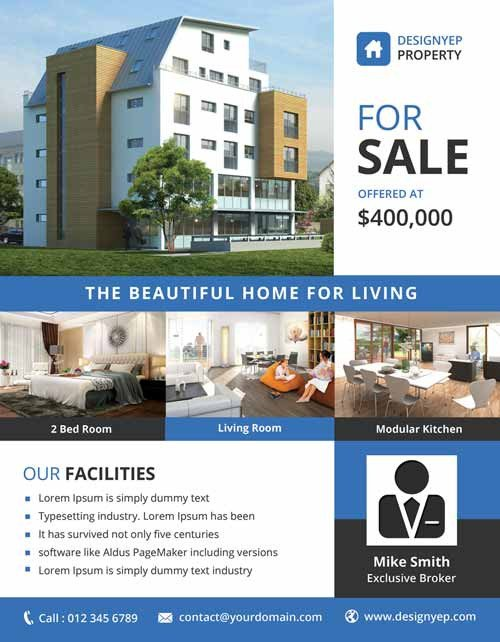 Free Real Estate Brochure Templates Download the Best Free Real Estate Flyer Templates for