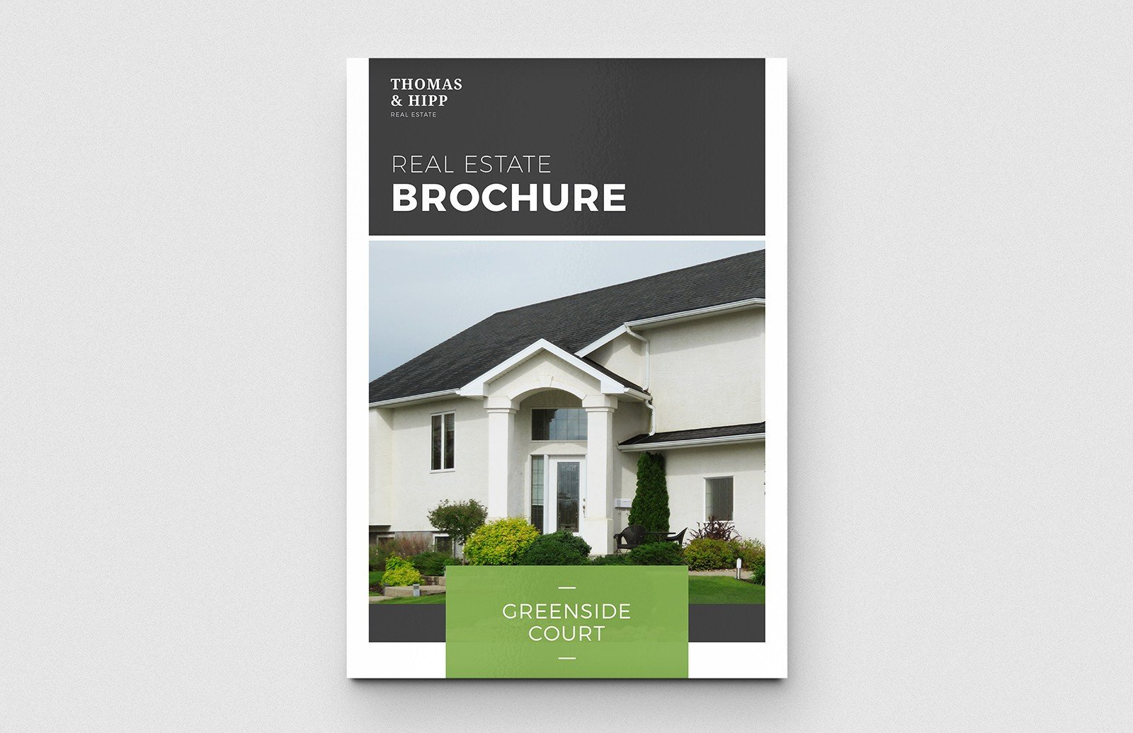 Free Real Estate Brochure Templates Real Estate Brochure Template — Medialoot