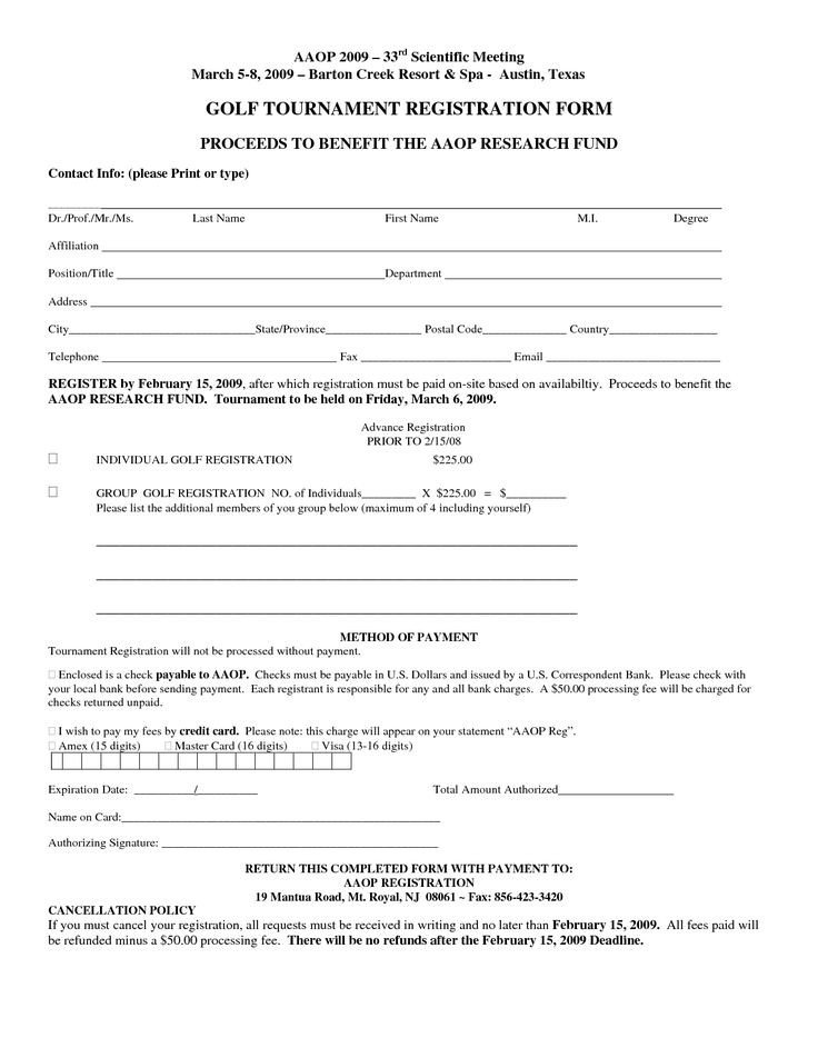 Free Registration forms Template Free Registration form Template