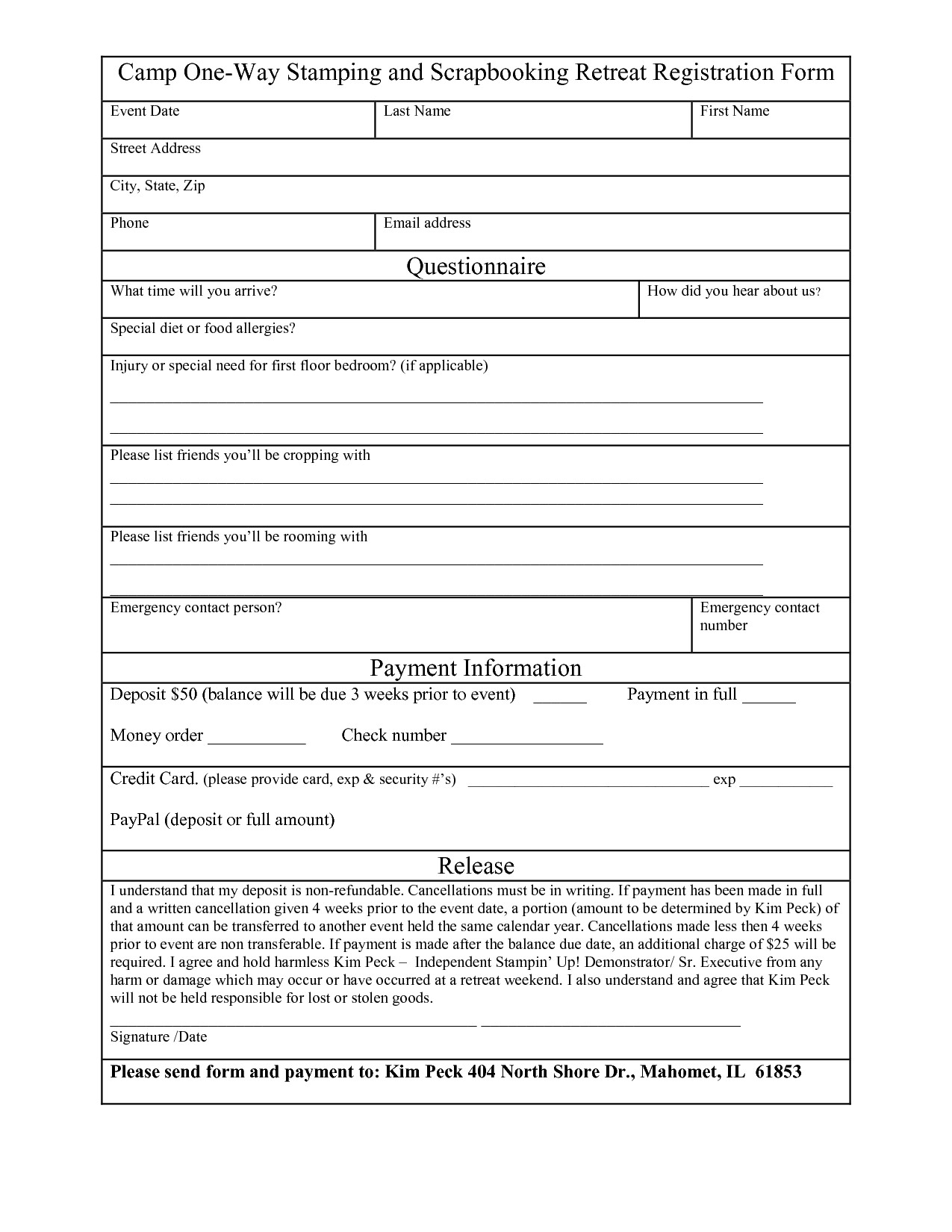 Free Registration forms Template Free Registration form Template Word Want A Free Refresher