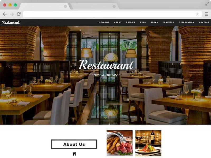 Free Restaurant Website Templates Technext