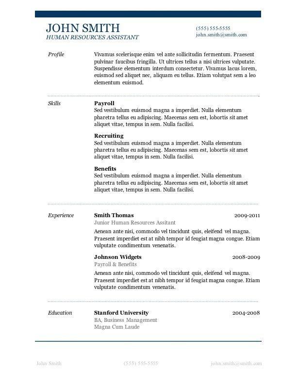Free Resume Templates Microsoft 7 Free Resume Templates Job Career