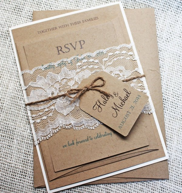 Free Rustic Wedding Invitation Templates 57 Examples Of Wedding Invitations Psd Ai Eps