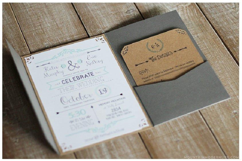 Free Rustic Wedding Invitation Templates Free Wedding Invitation Template