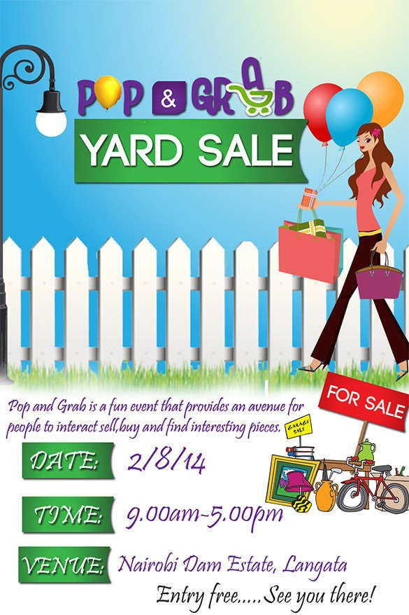 Free Sale Flyer Template 21 Best Yard Sale Flyer Templates & Psd Word Eps