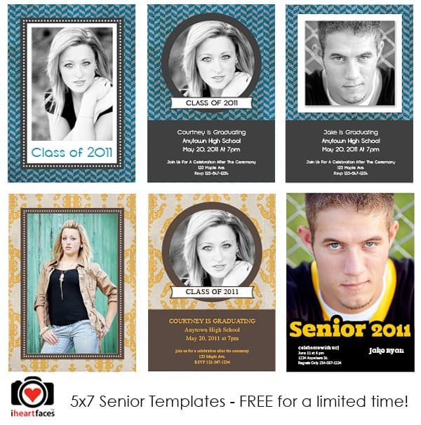 Free Graduation shop Templates