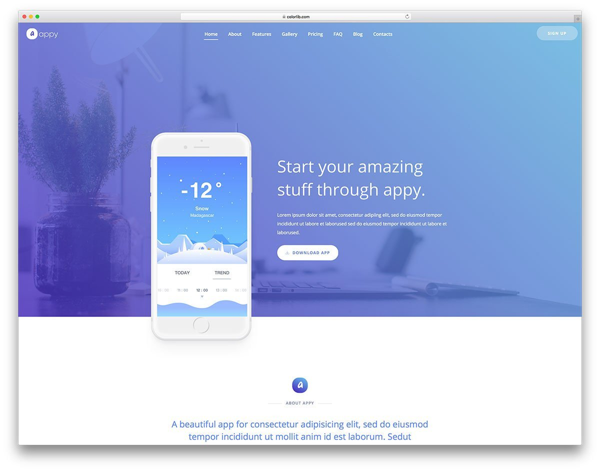 Free Simple Website Templates 51 Free Simple Website Templates for Clean Sites Using