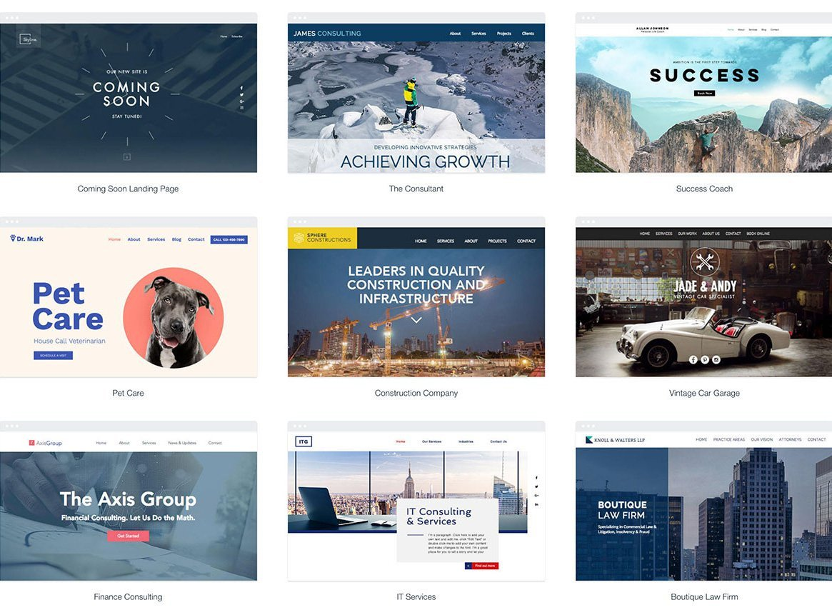 Free Simple Website Templates 67 Free Simple Website Templates for Clean Sites Using