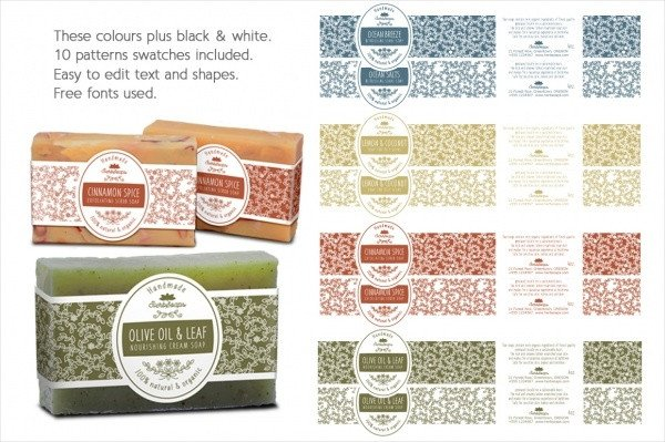 Free soap Label Templates 22 soap Label Designs Psd Vector Eps Jpg Download