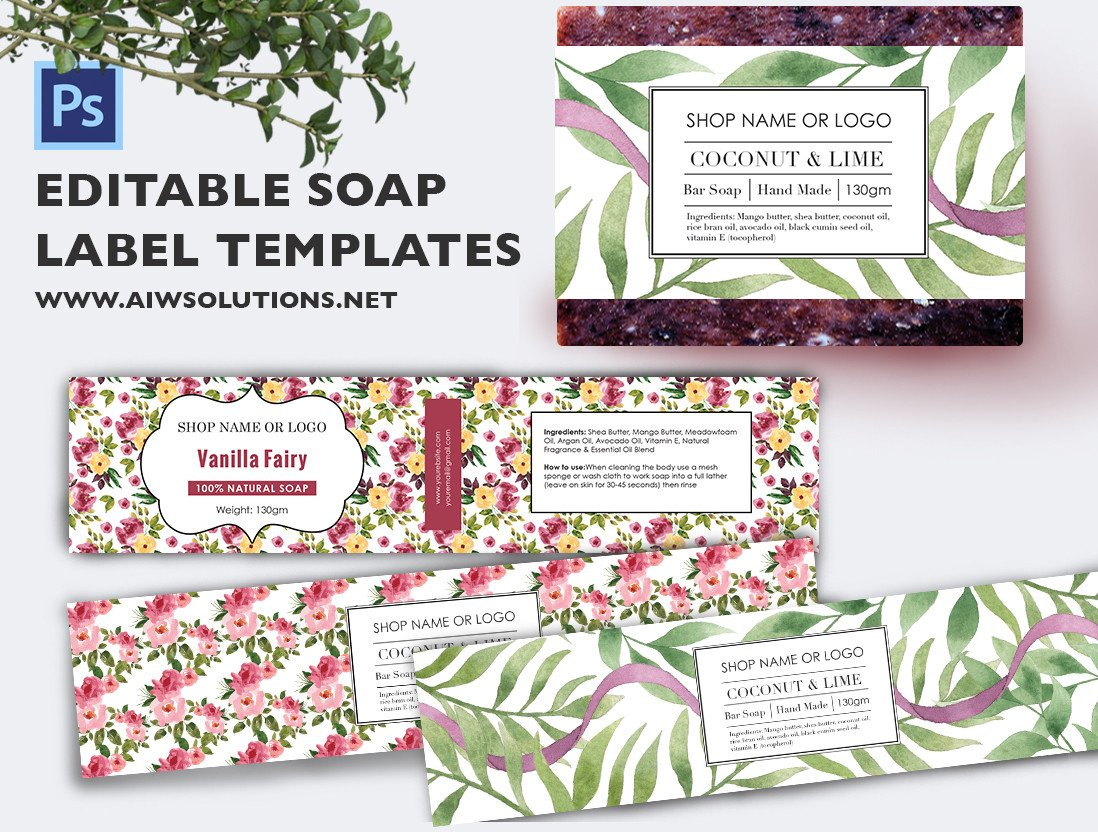 Free soap Label Templates soap Label Template Id48
