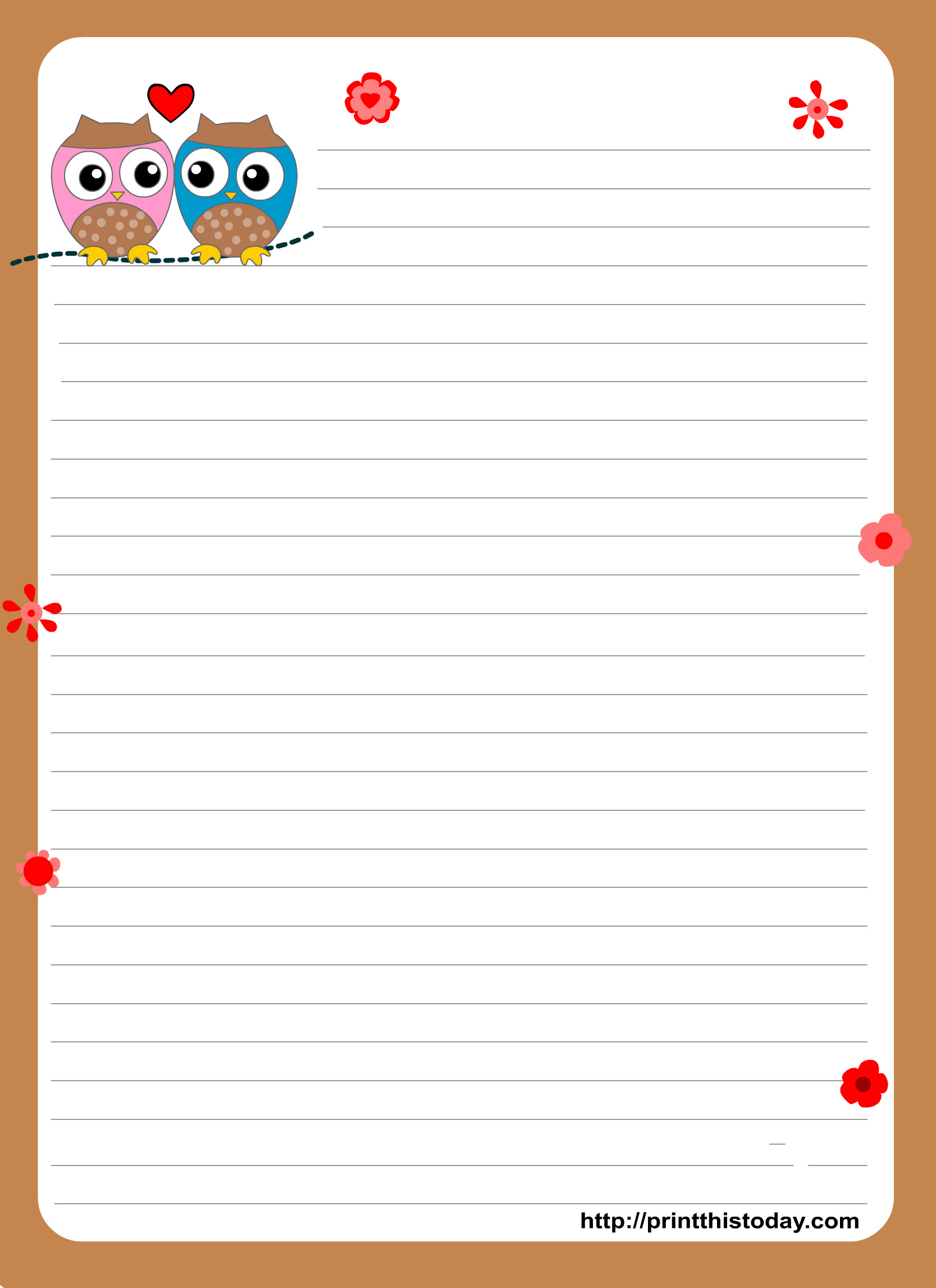 Free Stationery Paper Templates 1000 Images About Free Printable Stationary On Pinterest