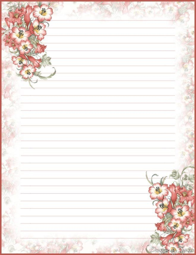 Free Stationery Paper Templates Best 25 Free Printable Stationery Ideas On Pinterest