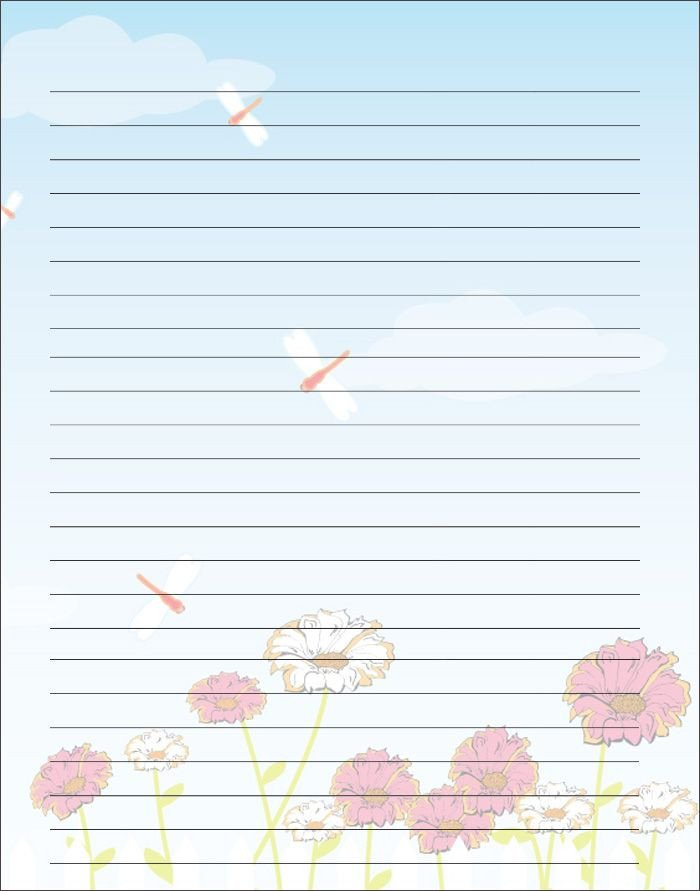 Free Stationery Paper Templates Free Printable Kids Mother S Day Writing Paper