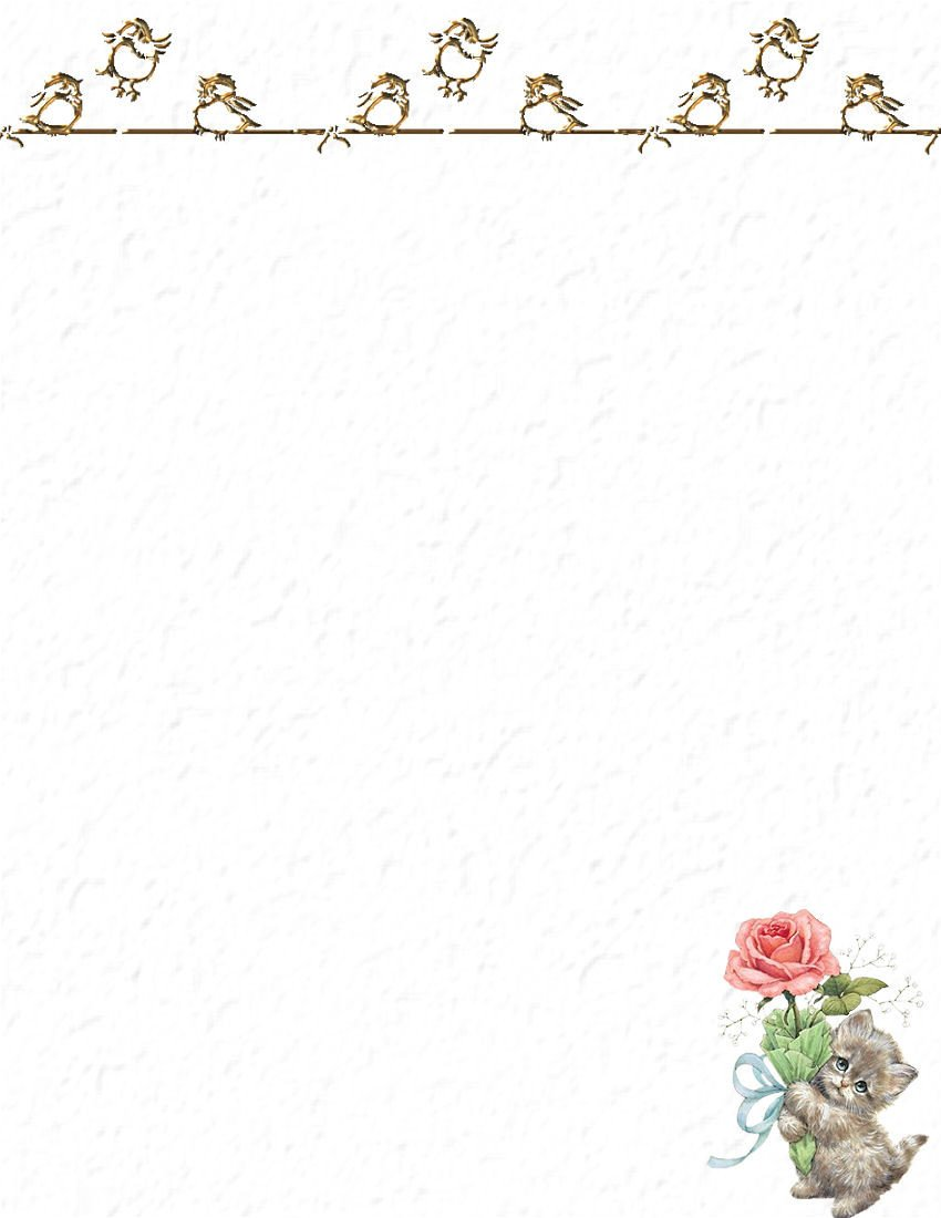 Free Stationery Paper Templates Stationery Products On Pinterest