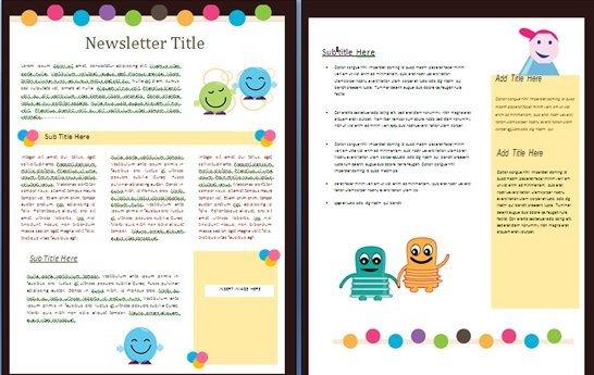 Free Teacher Newsletter Templates 15 Free Microsoft Word Newsletter Templates for Teachers