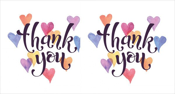 Free Thank You Card Template 40 Free Card Templates Jpg Psd Vector Eps