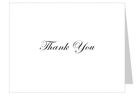 Free Thank You Card Template Free Thank You Card Template – Celebrations Of Life