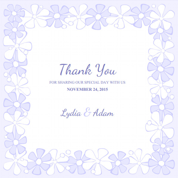 Free Thank You Card Template Wedding Thank You Cards Archives Superdazzle Custom