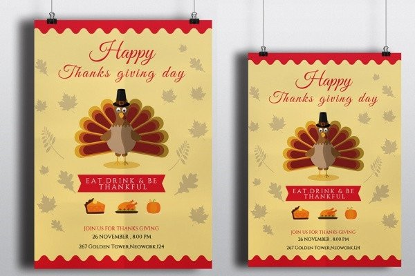 Free Thanksgiving Invitation Templates 21 Thanksgiving Invitation Designs Psd Vector Eps Ai