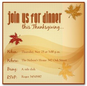 Free Thanksgiving Invitation Templates Dinner Invitation Clipart Clipart Suggest