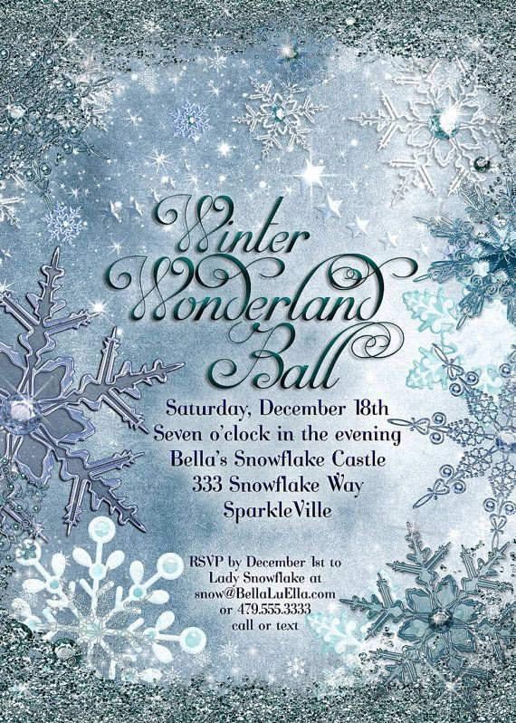 Free Winter Wonderland Invitations Templates 31 Best Winter Wonderland Invitations Images On Pinterest