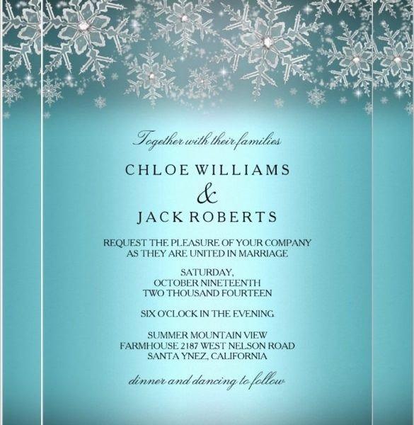 Free Winter Wonderland Invitations Templates Winter Invitation Templates Free Cobypic