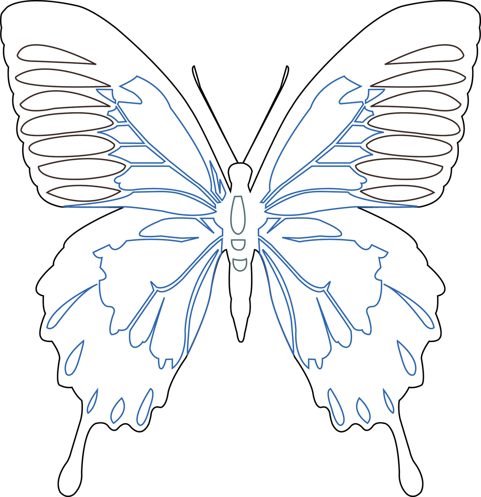 Free Woodburning Patterns Stencils Eiloren organza butterfly Using A soldering Iron On