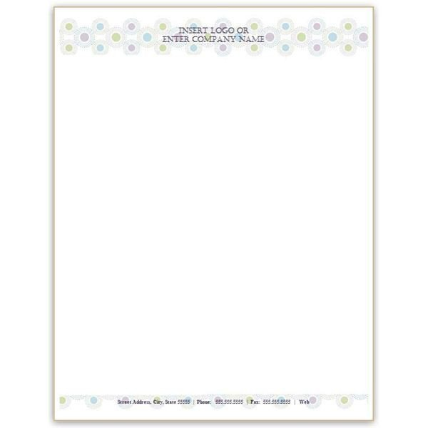 Free Word Letterhead Templates Six Free Letterhead Templates for Microsoft Word Business