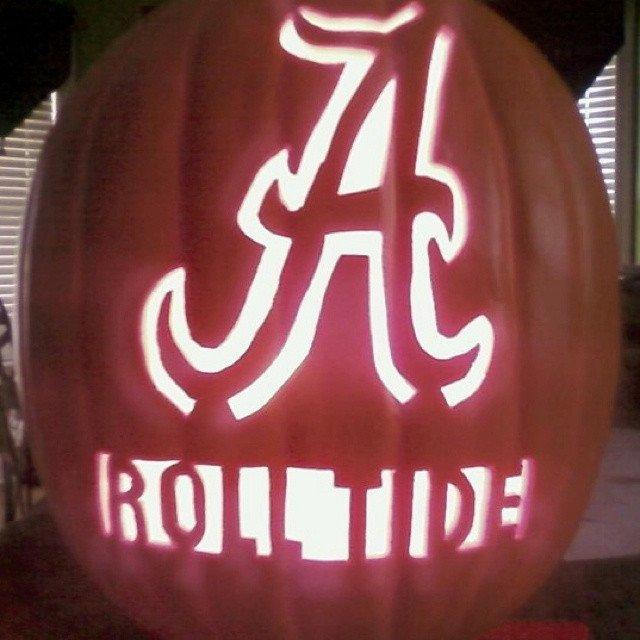 Fsu Pumpkin Carving Patterns 20 Best Images About Alabama Pumpkins On Pinterest
