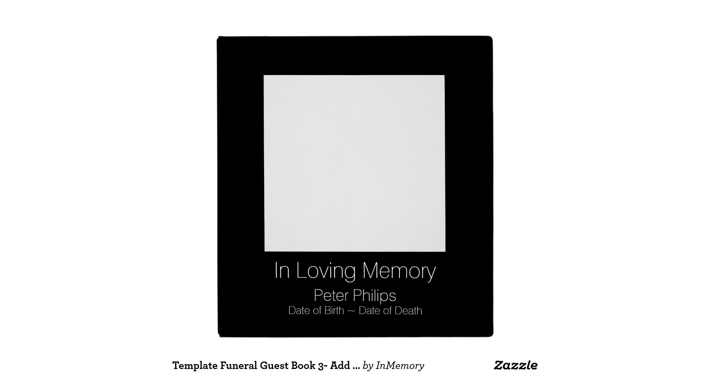Funeral Guest Book Template Template Funeral Guest Book 3 Add Favorite Image Binder