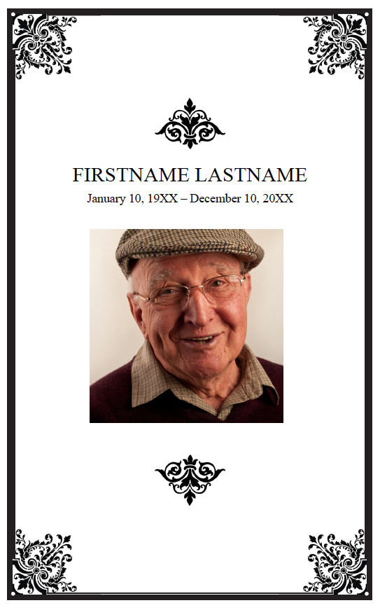 Funeral Mass Booklet Template Funeral Booklets Clearprintsdigital