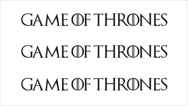 Game Of Thrones Fonts 7 Amazing Games Thrones Fonts