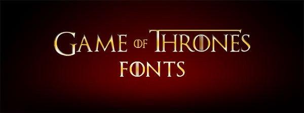 Game Of Thrones Fonts Game Of Thrones Fonts Ја сам Иван Благојевић