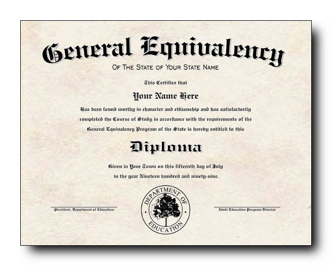 Ged Certificate Template Download are People with Ged S More Like High School Graduates or